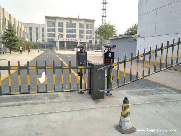 大兴道闸:长子营镇政府出入口案例