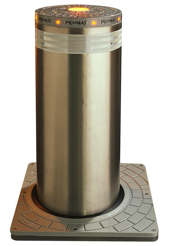 液压路障升降柱图片