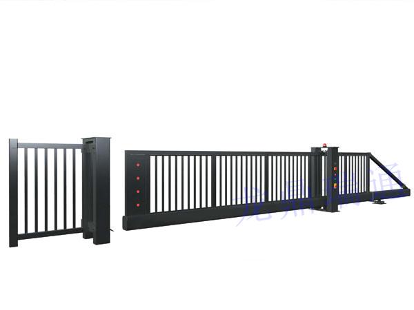 经典栅栏款-电动悬浮门