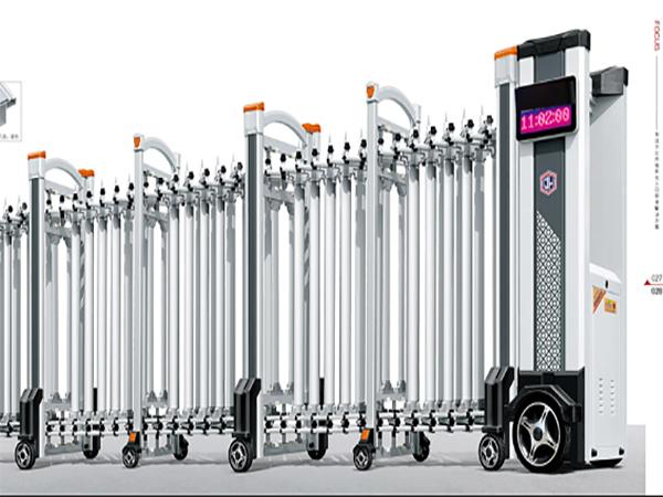铝合金(畅销款)-电动伸缩门2